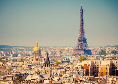 Im Sommer  nach Paris