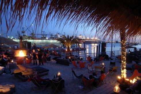 Abends bei Strand-Pauli
